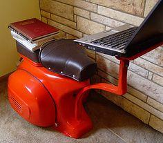 Vespa Study desk / Laptop stand.