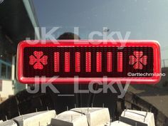 Jeep wrangler Lucky decals by arttechmilano on Etsy