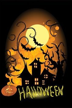 """Creepy Night Halloween Vinyl Garden Flag 12.5"""" x 18"""" by Outdoor Accents. $13.99. Outdoor Accents Garden Flags artwork is full color digitally printed onto heavy duty durable vinyl material for long lasting use.. Creepy Night Halloween Vinyl Garden Flag 12.5"""" x 18"""". Fits garden flag stand or garden size flag arbor. Hardware Sold Seperately. This Halloween Garden Flag will liven up your outdoor decor and put your guests in the Halloween spirit!. Creepy Night Halloween ..."""