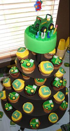 john deere cupcakes  | John Deere Cupcakes | Flickr - Photo Sharing!
