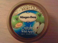 Haagen Dazs Wild Apple sorbet - japan only