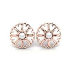 Silver Pearl Studs. R1500 Product Code- WE00083