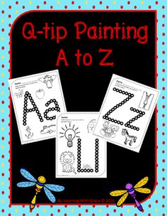Easy printable worksheets to help pre-k and kindergarten students with letter recognition, sounds and fine motor skills.