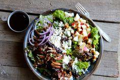 Apple, Pecan & Feta Green Salad