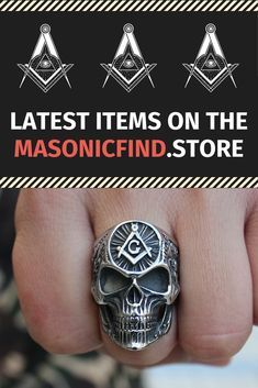 Browse our latest Masonic Rings