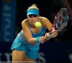 Sabine Lisicki #WTA Luxembourg Open 2014 http://www.womenstennisblog.com/2014/10/15/tough-day-top-seeds-luxembourg-highlights/