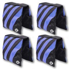PBL SANDBAG HEAVYDUTY SADDLEBAG DESIGN 4 BAGS HOLDS 20LBS OF SAND NEW by PBL