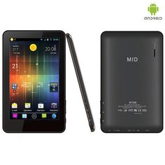 "Just received my new MID Google Android 4.0 1.2GHz 4GB 7"" Tablet PC from nomorerack.com .....SALE PRICE 69.00 - Regular price $199.99...Now if I can get it all figured out!! :)"