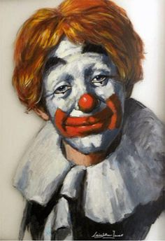 Emmett Kelly Clown, Clown Photos, Laugh Now Cry Later, Pierrot Clown, Clown Paintings, Punch And Judy, Send In The Clowns, Clown Faces, Clowning Around