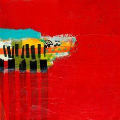Red on Red - Jane Davies
