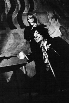 Andy Warhol and Salvador Dalí, photographed by David McCabe.