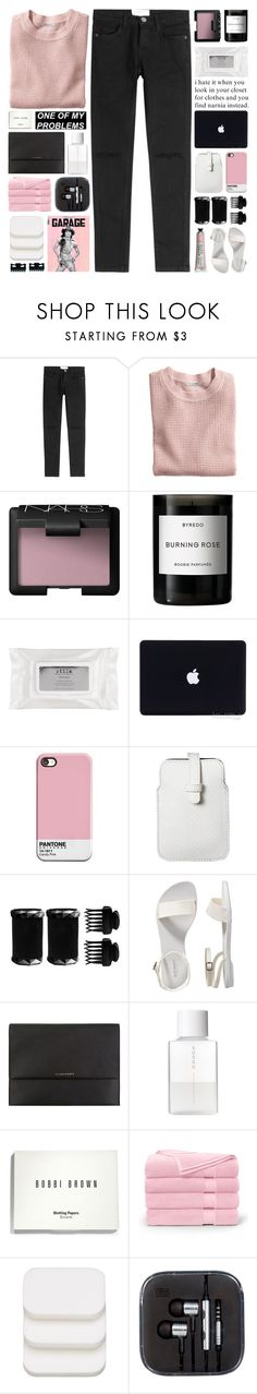 """""""this time ain't gonna run away"""" by untake-n ❤ liked on Polyvore featuring Current/Elliott, H&M, NARS Cosmetics, Byredo, Stila, Mossimo, T3, Old Navy, Burberry and SUQQU"""