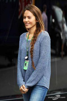 Jessica Michibata German GP 2013