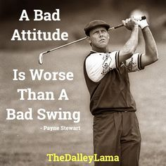 Attitude is everything & Fridays are for golfing! #success #attitude #inspiration #motivation #golf #fore #TheDalleyLama