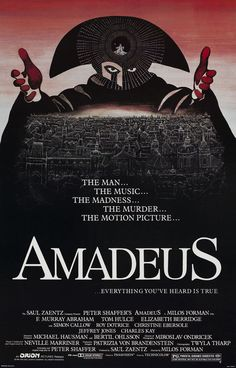 Amadeus....if you didn't watch this at least 12 times in school, they shouldn't have let you graduate!