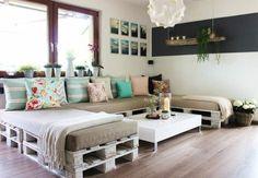 Ideas de hacer muchos muebles con palets y organizar el espacio en tu casa con viejos palets, instrucciones y lindos fotos para inspirar la creación