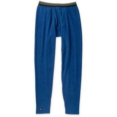 Heat Force Big Men's Performance Microfleece Thermal Pants, 2XL, Size: 4XL, Blue