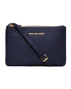 Otro de mis grandes amores. MICHAEL Michael Kors  Bedford Gusset Crossbody Bag.