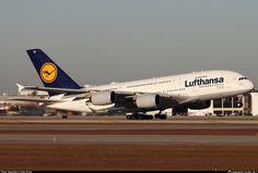 D-AIME Lufthansa Airbus A380-841