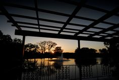 Located between the luxurious Villa and the historic guest center, the Deck overlooks Lake Messina Hof and the Snow Vineyard. Hear the tranquil splash of water and feel the constant breeze through the trees as you stand together under the vine laden pergola