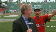 Boston Red Sox Manager Bobby Valentine Video Bombs Dan Shaughnessy