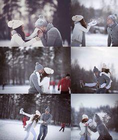Snow love....