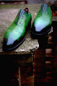 """""""Gachala"""" A new incredible Patina by Alexander Nurulaeff - Dandy Shoe Care for one lucky collector from Madrid :Mr. This stunner is one of the largest and most famous uncut. Tap Shoes, Me Too Shoes, Men's Shoes, Dress Shoes, Dance Shoes, Men Dress, Mens Shoes Boots, Leather Shoes, Shoe Boots"""