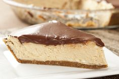 Elvis's Peanut Butter Pie with Homemade Chocolate Sauce