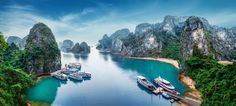 A sampan cruise along the Mekong, one of the most scenic rivers in Asia, will take you far beyond the tourist veil, past traditional villages, plantations, orchards and catfish farms, Vietnam