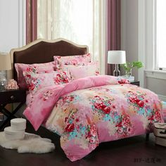 Yous Home Textiles!King queen 4pcs Pure cotton Brushed bedding set/bedclothes/duvet covers bed sheet the bed linen brand bedding $126.00 - 128.00