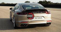 Porsche Panamera Turbo S E-Hybrid ist eine gerade Linie Beast Hybrids Porsche Porsche Panamera Porsche Videos Video
