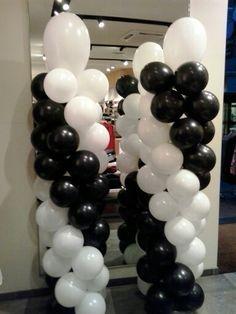balloon columns!!!!!