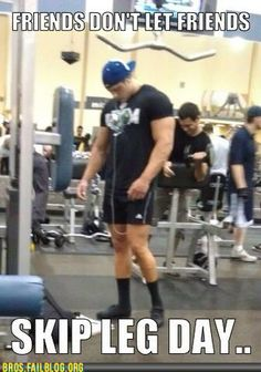 Bros: Why You Don't Forget the Legs When You Inject Steroids Into Your System