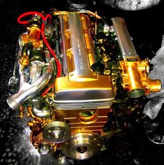 Engine cleaning the right way #Import #TRD Racing this #RacingFriday