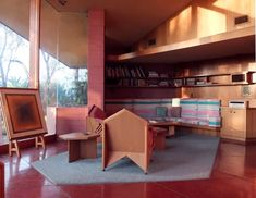 The Ablin House in Bakersfield, CA by Frank Lloyd Wright, 1958-61   Neurosurgeon Dr. George Ablin and his wife, Mildred (a registered N...