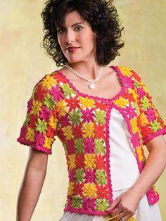 Free Crochet Pattern Link Blast | Womens Sleeveless Tops: 21 free crochet patterns! Tanks top, shell, camisole, sleeveless crochet tops