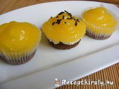 Mirinda muffin / Fanta muffin | Receptkirály.hu Muffin, Xmas, Breakfast, Food, Morning Coffee, Christmas, Essen, Muffins, Navidad