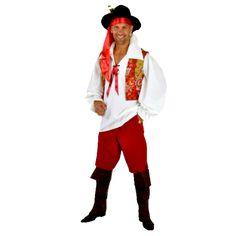Bohémien code produit : 943-035 et 943-036 6 pièces : Chemise + Ruban, Pantalon, 2 Sur-bottes et Chapeau. Tailles : 52 et 54.
