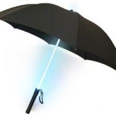 Diferenciaté en los días tristes y lluviosos con este Paraguas Luminoso