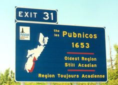 Pubnico, Nova Scotia, the oldest Acadian region that remains French Acadian to this day.