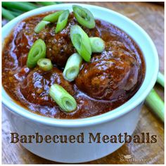Barbecued Meatballs recipe | A Southern Soul