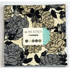 """Amazon.com: Basic Grey LITTLE BLACK DRESS 10"""" Layer Cake Fabric Quilting Squares Moda 30300LC: Arts, Crafts & Sewing"""
