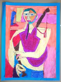 Luís Seoane . O gaiteiro Sabela, Picasso, Art Projects, Abstract Art, Arts And Crafts, Paintings, Sculpture, Illustration, Artworks