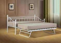 White-Paris-Metal-Daybed-guest-bed-with-trundle-mattress-option