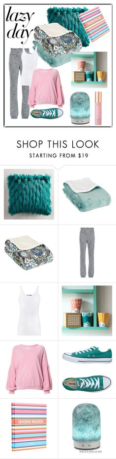 """""""Coffee, Tea, Aromatherapy"""" by shoultesshark ❤ liked on Polyvore featuring Pier 1 Imports, Lilly Sarti, Vince, House of Rym, The Great, Converse, W&P Design, Aroma and KORA Organics by Miranda Kerr"""