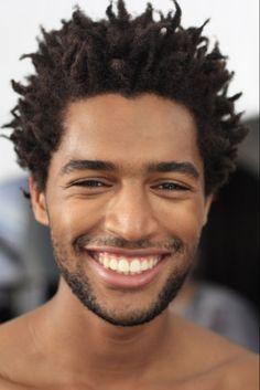 Visage Homme afro-européen