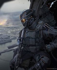 Best Futuristic Armor - ideas and images on Bing Futuristic Armour, Futuristic Art, Tactical Armor, Tactical Uniforms, John Rambo, Combat Armor, Military Special Forces, Sci Fi Armor, Future Soldier