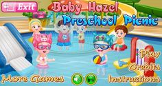 Baby Hazel is overwhelmed for the school picnic to water park. Can you help her in packing her bags with necessities and eating stuff for her picnic? https://play.google.com/store/apps/details?id=air.org.axisentertainment.BabyHazelPreschoolPicnic
