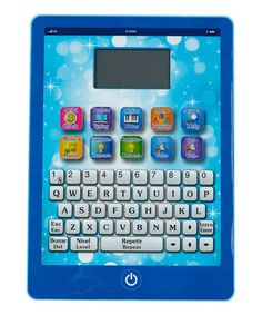 Take a look at this Blue LCD EduTab by EduTab on #zulily today!