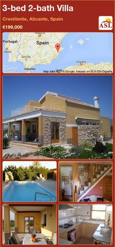 3-bed 2-bath Villa in Crevillente, Alicante, Spain ►€199,000 #PropertyForSaleInSpain